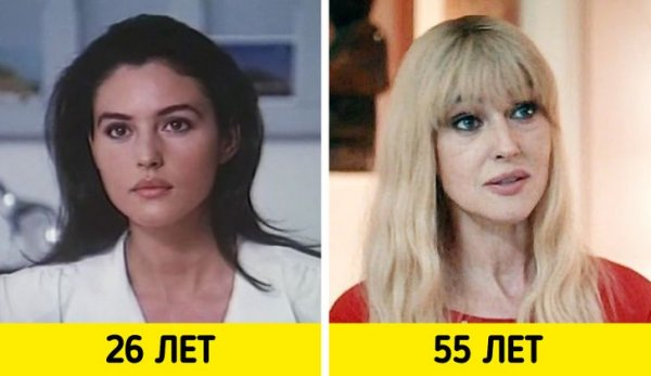 Моника Беллуччи — «Взрослая любовь» (1990) и «Человек, который продал свою кожу» (2020)