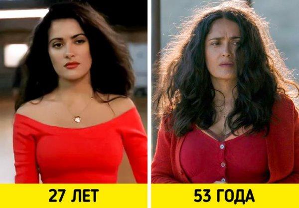 Сальма Хайек — «Гонщики» (1994) и «Неизбранные дороги» (2020)