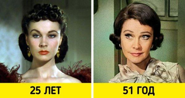 Вивьен Ли — «Унесенные ветром» (1939) и «Корабль дураков» (1965)
