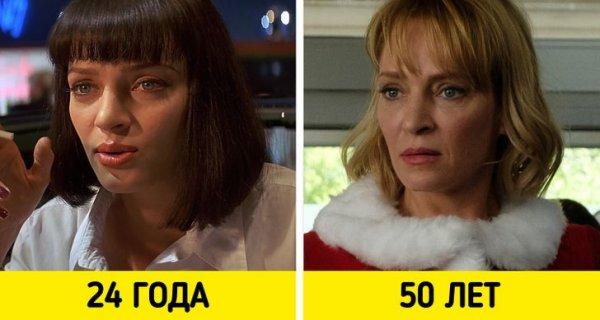 Ума Турман — «Криминальное чтиво» (1994) и «Дедушка нелегкого поведения» (2020)