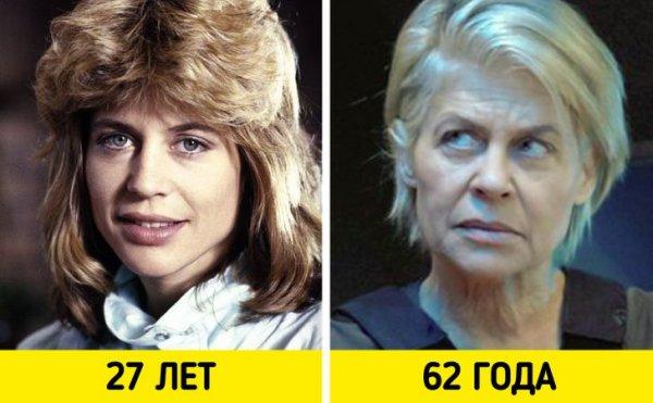 Линда Хэмилтон — «Терминатор» (1984) и «Терминатор: Темные судьбы» (2019)