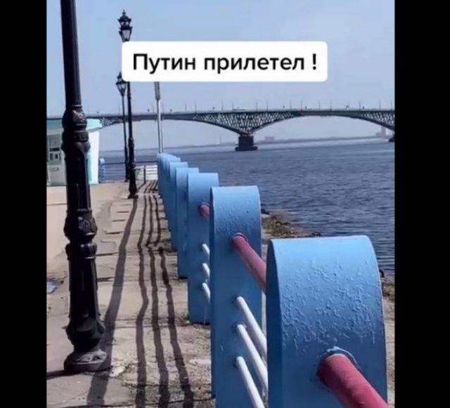Из-за Владимира Путина люди не смогли посетить место приземления Юрий Гагарина