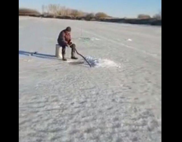Очень удачная рыбалка