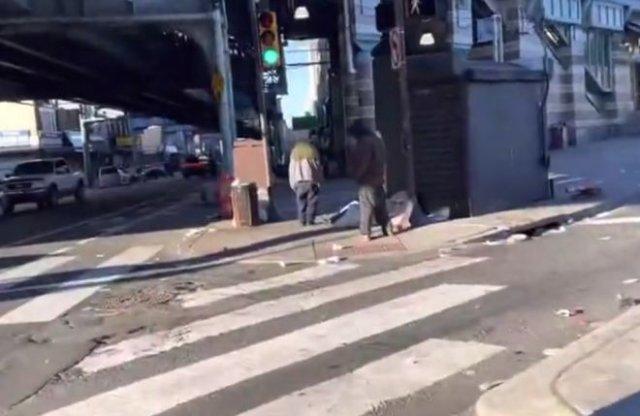 Прогулка по Кенсингтон-авеню в Филадельфии