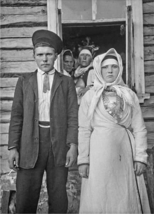 Жених и невеста. Россия, 1910-е гг.