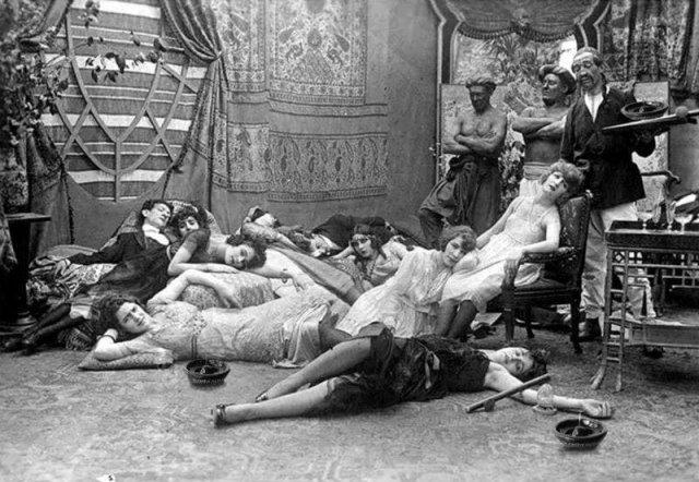 Вечеринка, 1918 год.