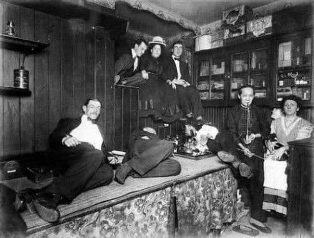 Китайский квартал. Нью-Йорк. США. 1925 год.