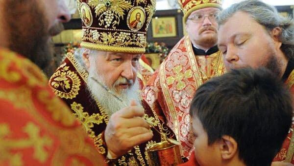 Патриарх Кирилл объяснил, почему через святые дары нельзя заразиться коронавирусом