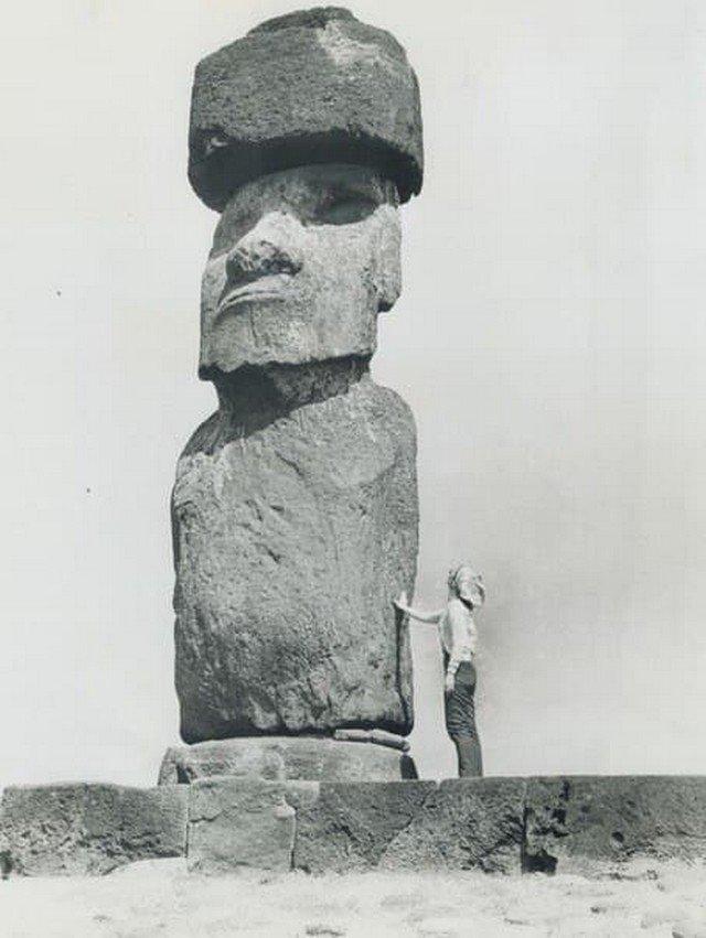 19 января 1970 года. Остров Пасхи становится модной туристической темой.