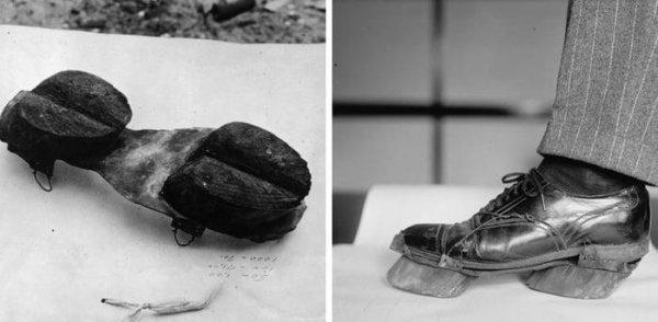 Ботинки с копытами, которыми пользовались во время «Сухого закона» в США