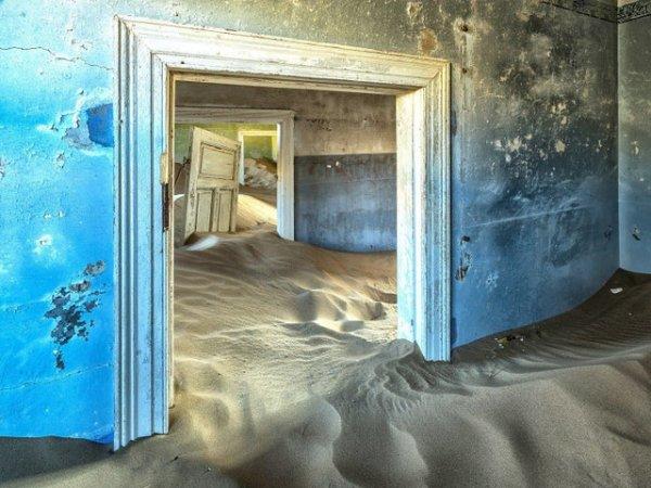 Колманскоп, город-призрак на юге Намибии