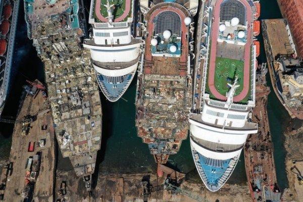 Кладбище заброшенных кораблей