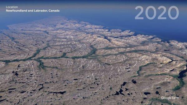 Канада, провинция Ньюфаундленд и Лабрадор в 2020