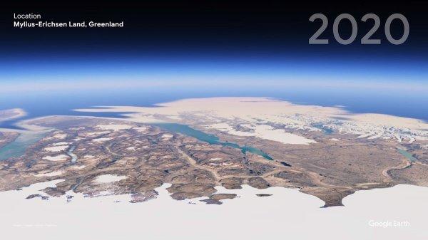 Земля Милиуса-Эрихсена, Гренландия в 2020