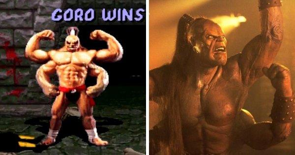 Горо из серии игр Mortal Kombat