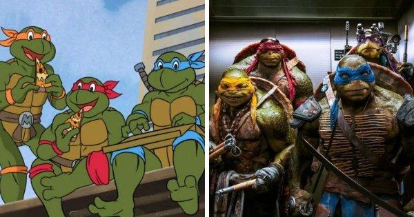 Появления в кино: «Черепашки-ниндзя» (1990) и «Черепашки-ниндзя» (2014).