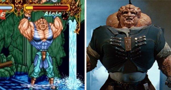 Абобо из серии игр Double Dragon
