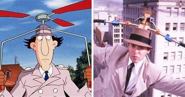 Инспектор Гаджет из мультсериала 1983 года