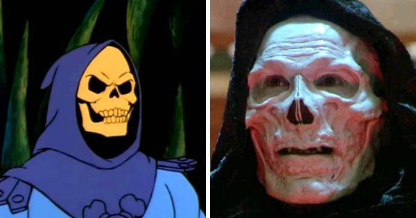Скелетор из мультипликационного сериала «Хи-Мен и властелины вселенной» (1983-1985)