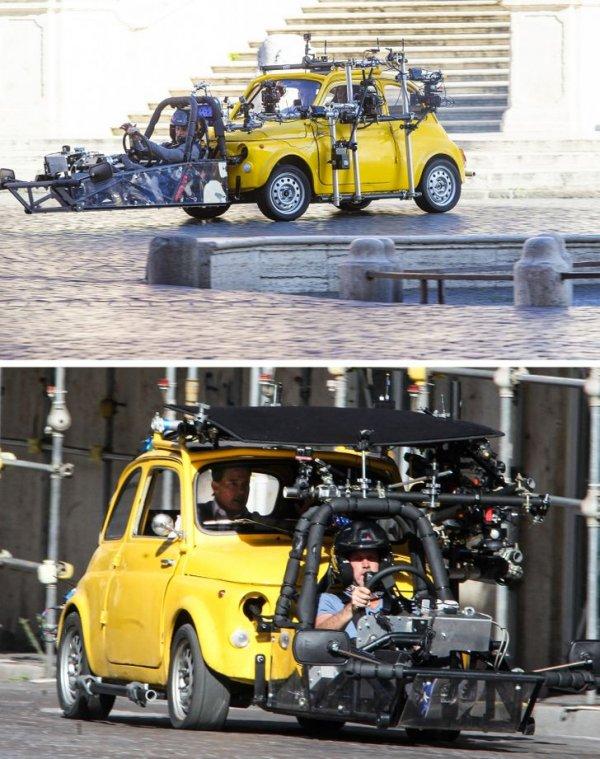 Съемки фильма «Миссия невыполнима — 7» с Томом Крузом в главной роли.
