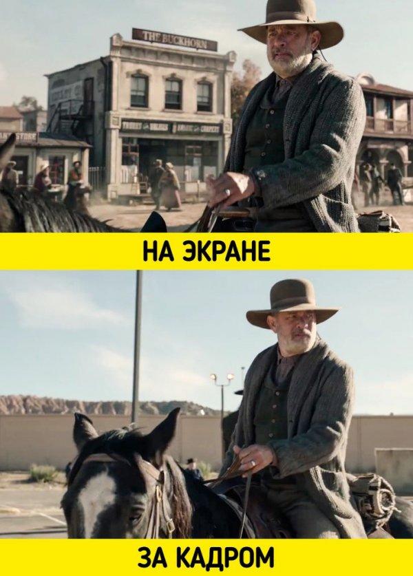 Том Хэнкс в фильме «Новости со всего света» (2020)