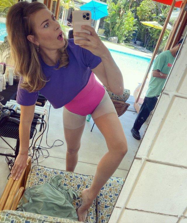 Мария Шарапова делет смешное селфи
