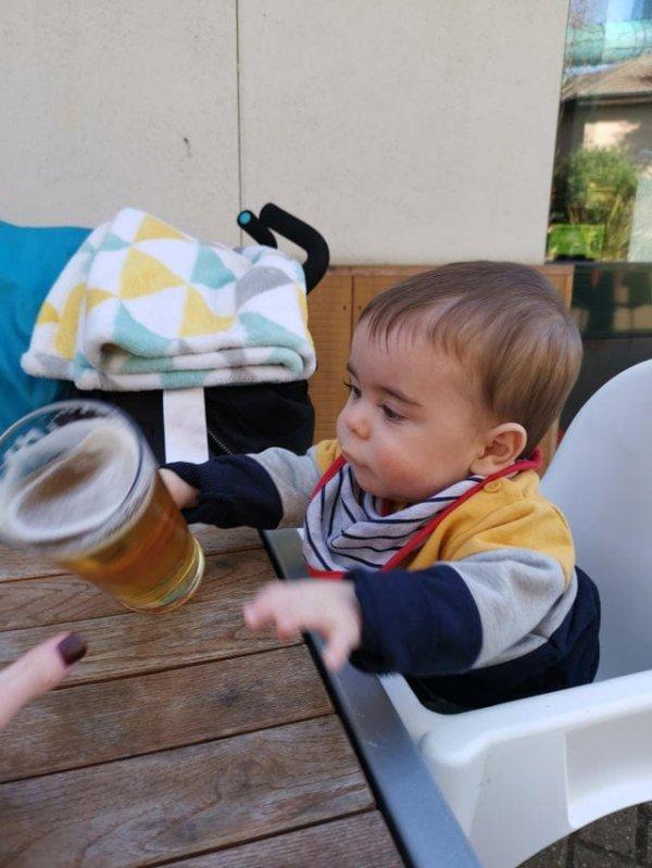 Малыш против алкоголя