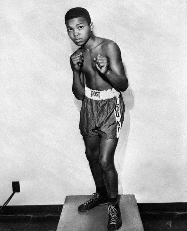 12-летний Махаммед Али, тогда ещё Кассиус Клей, 1954 год.