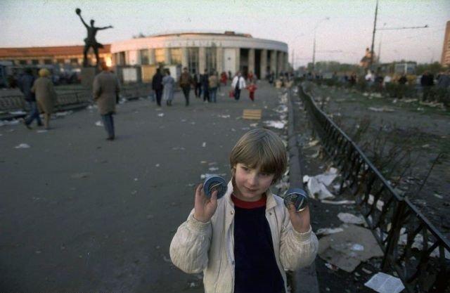 Рижская площадь. Москва, 1992-1993 гг.