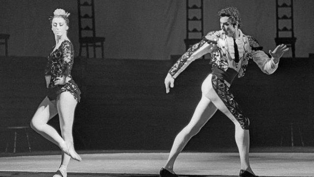 Майя Плисецкая и Виктор Барыкин, 1985 год.