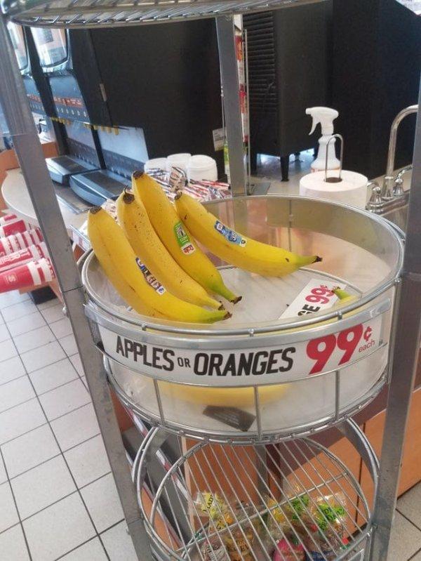 Это яблоки? Или апельсины?