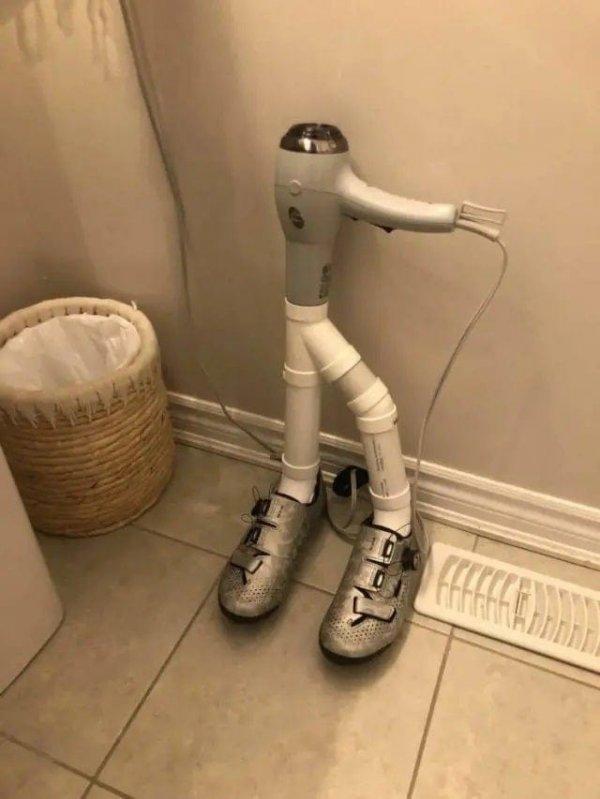 Инновационная сушилка для обуви