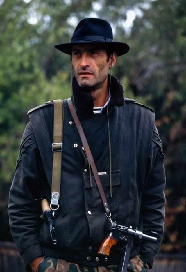 Участник Тбилисской войны, Грузия, 1991 год.
