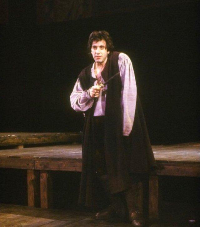 Аль Пачино в образе в театре