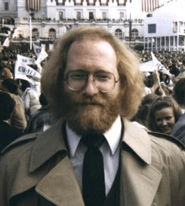 Мой 25-летний отец на инаугурации Рональда Рейгана 20 января 1981 года