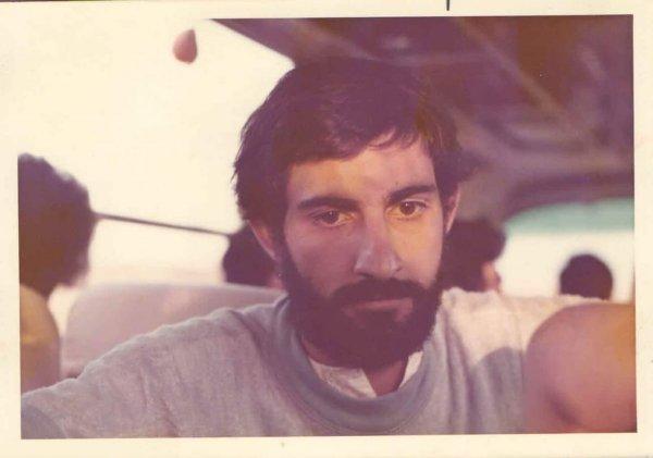 Взгляд моего отца на 100 километров вдаль. В 1974 году ему было 23