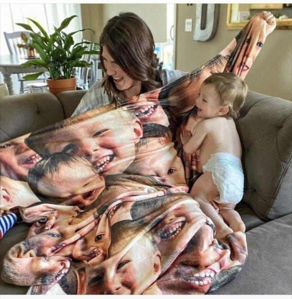 Довольно жуткое одеяло