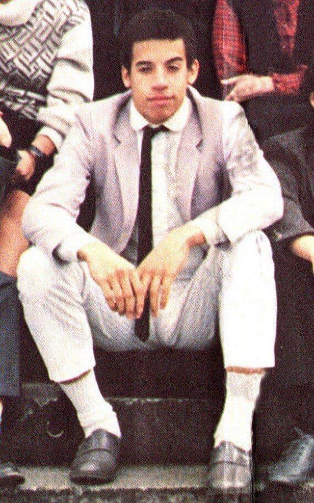 Старшеклассник Вин Дизель. 1985 год.