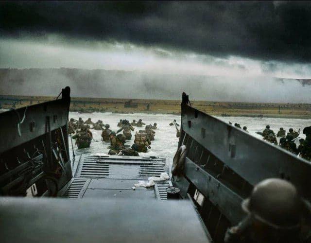 Высадка в Нормандии 6 июня 1944 года.