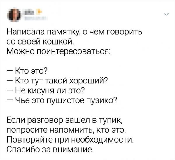 твит про разговор =