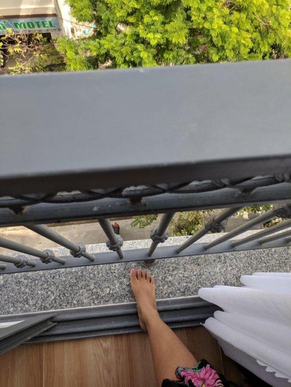 Мне сказали, что в номере будет балкон
