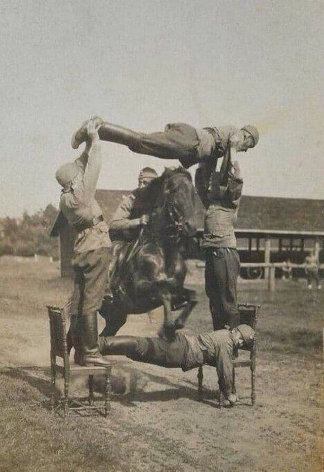 Учения финской кавалерии, 1930-е годы
