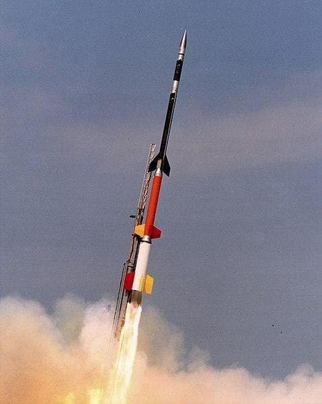 Запуск ракеты Black Brant XII 25.01.1994 г.