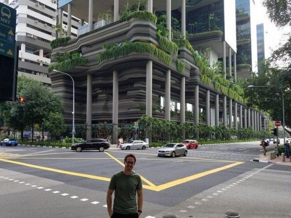 Удивительная архитектура Сингапура