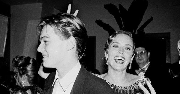 Леонардо Ди Каприо и Шерон Стоун, 1999 год