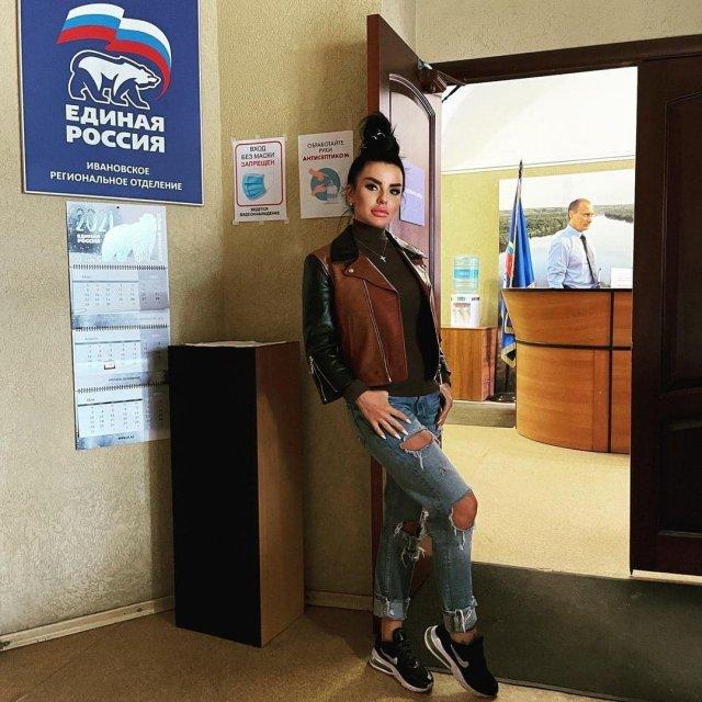 Юлия Волкова в Ивановском региональном отделении