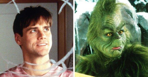 Джим Керри в роли Гринча из фильма «Гринч — похититель Рождества» (2000)