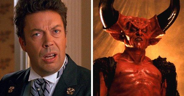 Тим Карри в роли Повелителя Тьмы из фильма «Легенда» (1985)