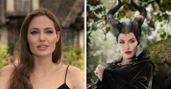 Анджелина Джоли в роли Малефисенты из фильма «Малефисента» (2014)