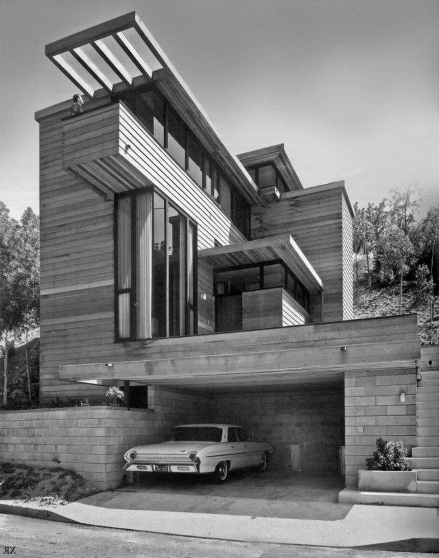 Американский дом в стиле минимализм, Лос-Анджелес, 1964 год.